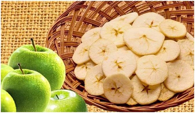 cara membuat keripik buah apel