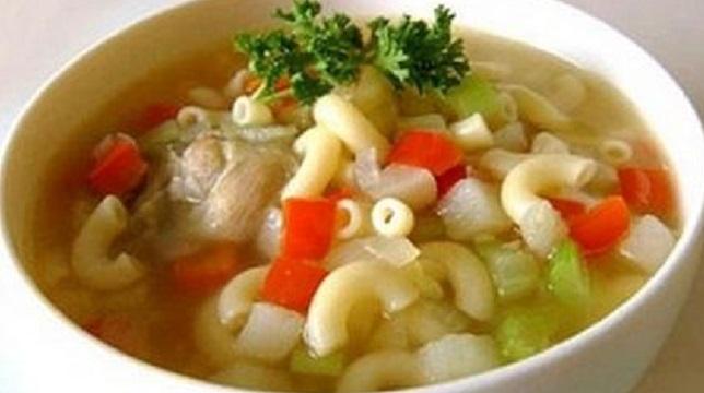 Sup Sosis Wortel Makaroni