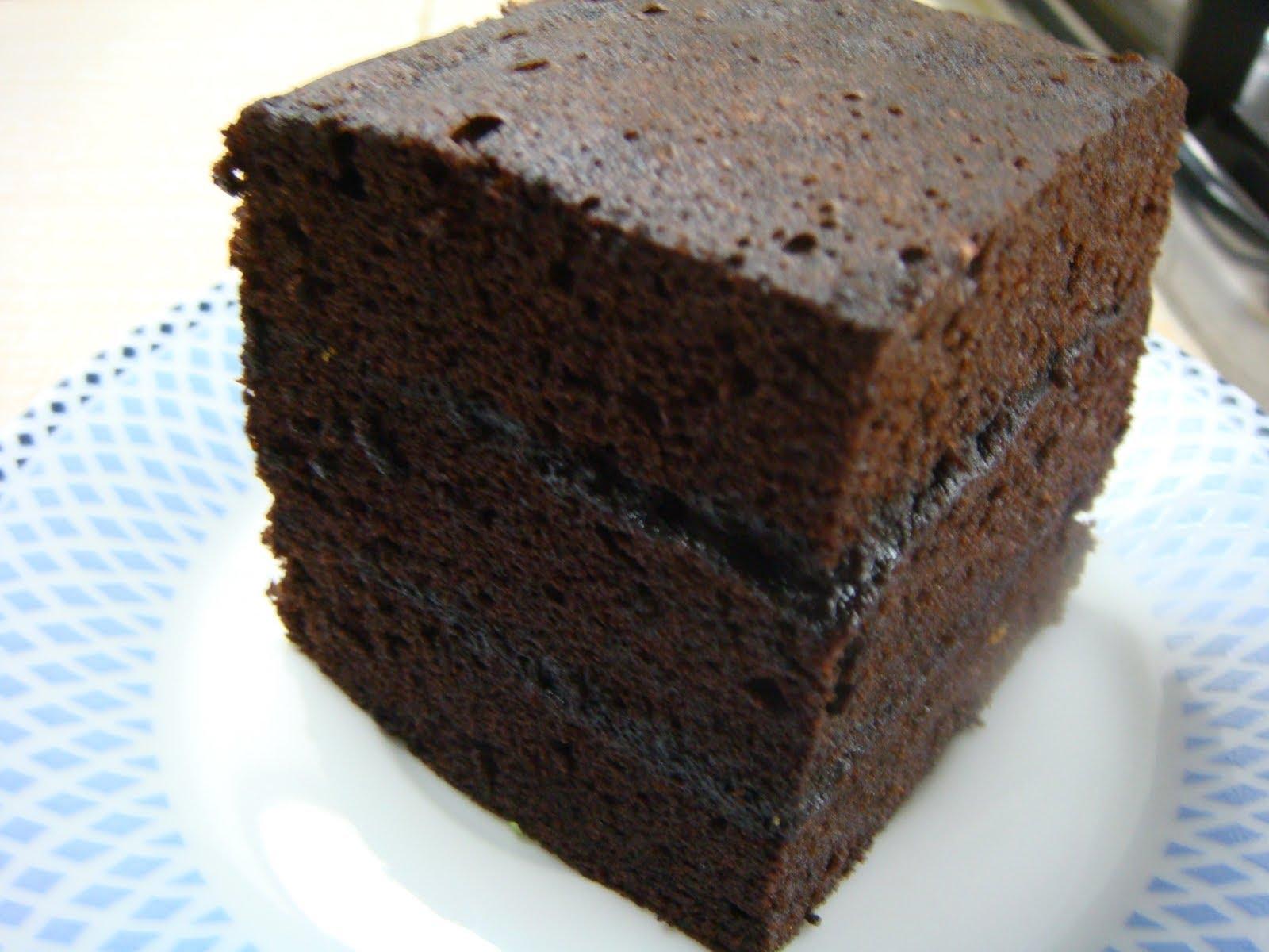 cara membuat brownies amanda kukus